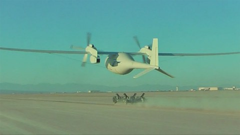 Boeing - Erstflug der Phantom Eye
