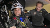 Solar Impulse startet in Madrid