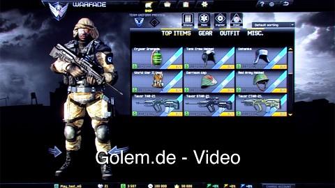 Warface-Gameplay-Demo auf der E3 2012