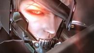 Metal Gear Rising - Raiden im Demomenü (E3 2012)