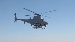 Drohne MQ-8B Fire Scout von Northrob Grummann