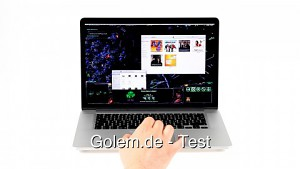 Macbook Pro mit Retina-Display - Test