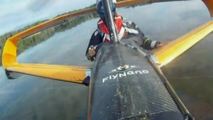 Flynano - Wasserflugzeug mit E-Motor