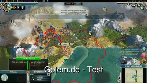 Civilization 5 Gods and Kings - Test