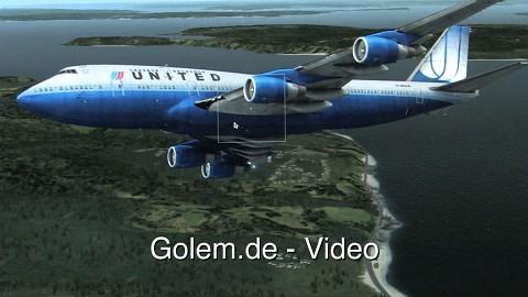 X-Plane 10 auf dem Macbook Pro Retina