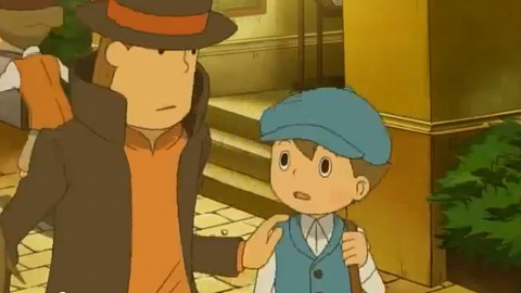 Professor Layton and the Miracle Mask - Teaser