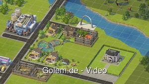 Sim City Social - Gameplay vom Spielbeginn