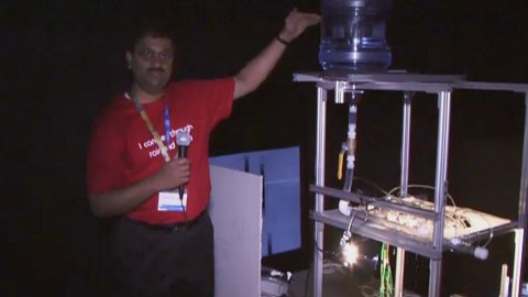 Smart Headlight auf dem Research at Intel Day