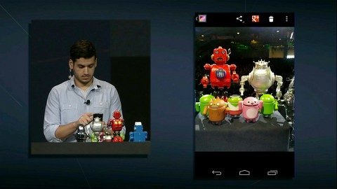 Google IO 2012 - Android 4.1 Jelly Bean (Live-Demo)