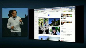 Google IO 2012 - Events in Google Plus demonstriert