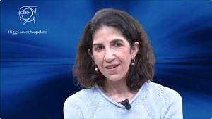 Atlas-Sprecherin Fabiola Gianotti - Cern