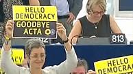 Abstimmung über Acta im EU-Parlament