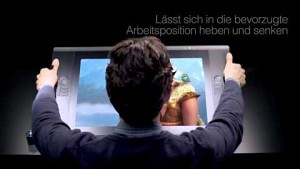 Wacom Cintiq 24HD touch Trailer