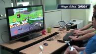 Mario Kart 64 mit vier Spielern auf Odroid-X