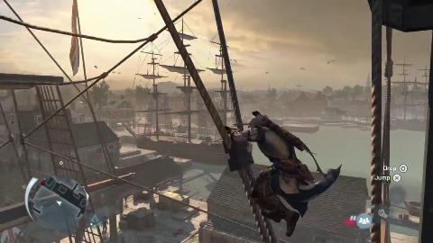 Assassin's Creed 3 - Gameplay (Boston)