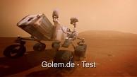 Kinect Mars Rover Landing angespielt