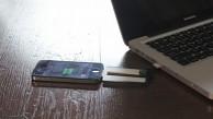 Chargecard - Ladekarte für iOS und Micro-USB
