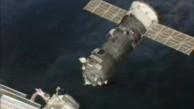 Progress dockt von der ISS ab