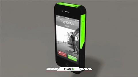 Flashr - Lichthülle für das iPhone 4
