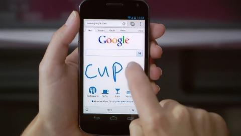 Handschrifterkennung - Google-Suche mit Handwrite