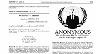 Operation Anon Trademark