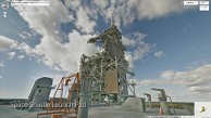 Kennedy Space Center in Google Street View