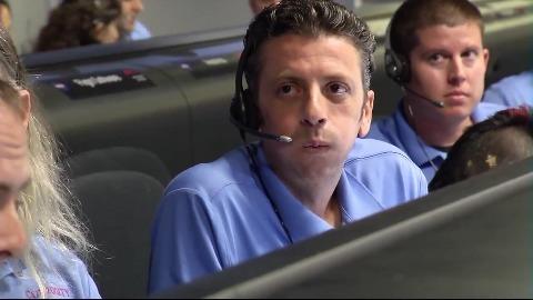Nasa-Zentrale während der Curiosity-Landung