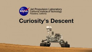 Video von der Curiosity-Landung