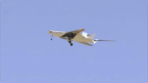 Testflug des X-48C