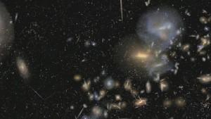 Sloan Digital Sky Survey - Flug durchs All