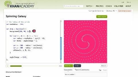 Programmieren lernen mit der Khan Academy