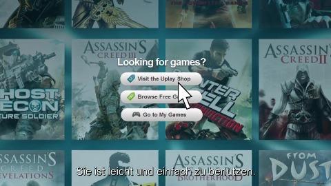 Ubisoft stellt neues Uplay vor (Gamescom 2012)