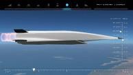 Flug eines X-51A - Animation
