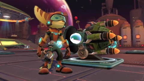 Ratchet and Clank Qforce - Trailer (Gamescom 2012)