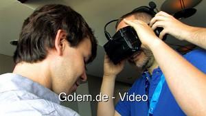 Oculus Rift auf der Gamescom 2012 ausprobiert
