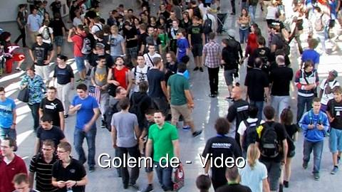Gamescom 2012 - Eindrücke aus den Besucherhallen