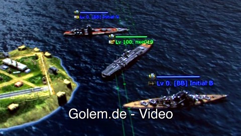 Navy Field 2 - kommentierte Gameplay-Demo