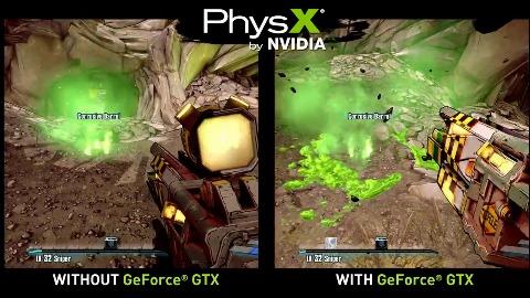 Borderlands 2 - PC-Vergleich mit und ohne PhysX