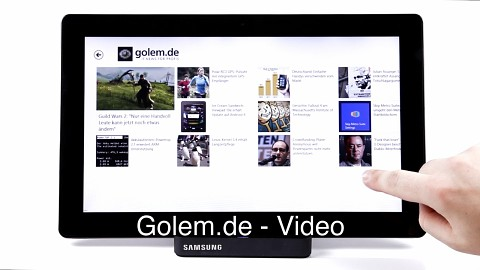 Die Golem.de-App für Windows 8