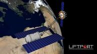 Konzept Mondaufzug