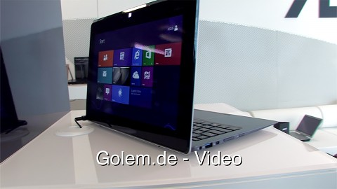 Asus Taichi - Hands on (Ifa 2012)