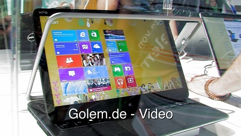 Dell XPS Duo 12 - Eindrücke vom Messestand (Ifa 2012)