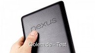 Google Nexus 7 - Test