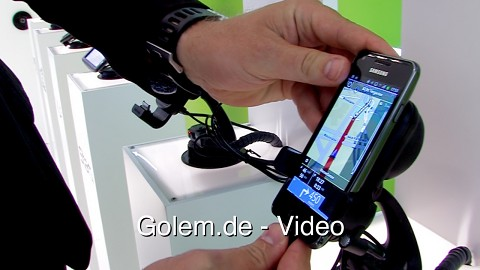 Tomtom Car Kit für Smartphones (Ifa 2012)