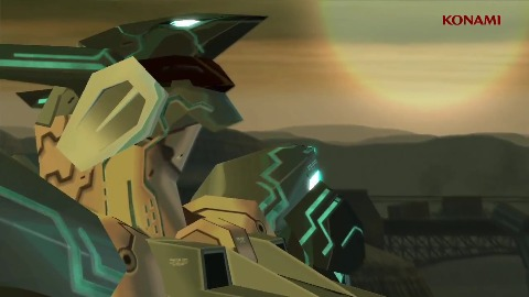 Zone of the Enders HD 2nd Runner - Intro (jap.)