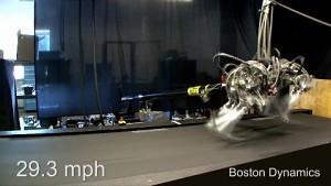 Geschwindigkeitsrekord von Roboter Cheetah