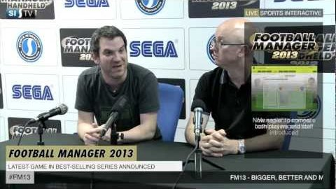 Football Manager 2013 - Trailer (Ankündigung)