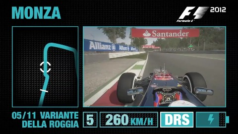 F1 2012 - Gameplay-Tutorial (Monza)