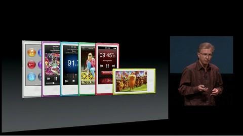 Apple zeigt den iPod Nano (7. Generation)
