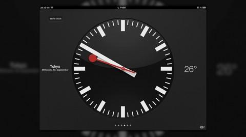 Uhr in iOS 6 ausprobiert